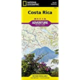 Costa Rica: Travel Maps International Adventure Map: NG.AM3100 (Adventure Map (Numbered))
