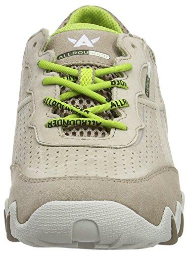 Mephisto Braun by Nanja Sneakers suede 37 TAUPE Wonderland C TAUPE 37 Allrounder Damen O5wqvO