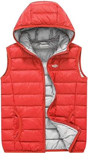Koo-T Girls Gilet Body Warmer Faux Fur Hood Sleeveless Coat Down Winter Age Size