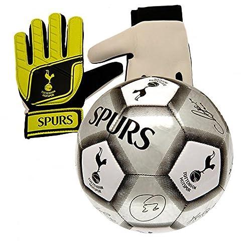 Nuskin Spurs Size 5 Signature Football and Goalkeeper Gloves