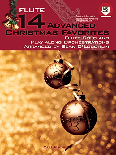 14 ADVANCED CHRISTMAS FAVOURITES   FLUTE   BOOK