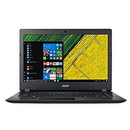 Acer Aspire 3 15.6-inch Laptop (AMD E2-9000/4GB/1TB/Linux/Integrated Graphics), Black