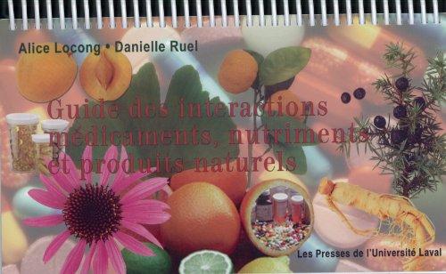 Guide des Interactions Médicaments, Nutriments