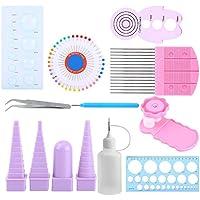 Kit de 11pcs Outils de Paperolles Quilling Paper pour DIY Art du Papier Loisirs Créatifs