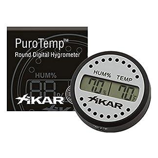 Xikar Redondo Digital higrómetro