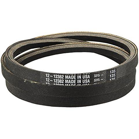 Correa de transmisión para Mtd Repl 954-04043 (1,27 cm X 146,56 cm) aramida cable construcción