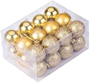 Fizzytech Christmas Xmas Tree Golden Ball Bauble Hanging Party Ornament