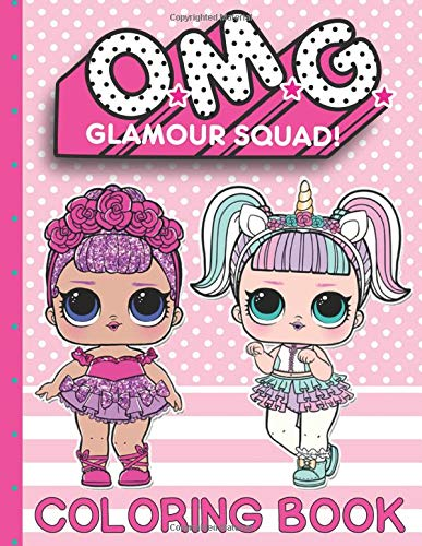 O.M.G. Glamour Squad: Coloring Book (Volume 1) por Books Plus