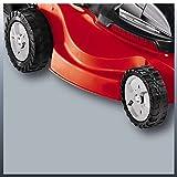 Einhell Elektro Rasenmäher GC-EM 1437 (1400 W, 37 cm Schnittbreite, 3-fache Schnitthöhenverstellung 25-60 mm, 36 l Fangbox) -