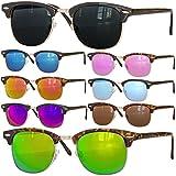 Retro Sonnenbrille Clubmaster clubma Vintage Sonnenbrille