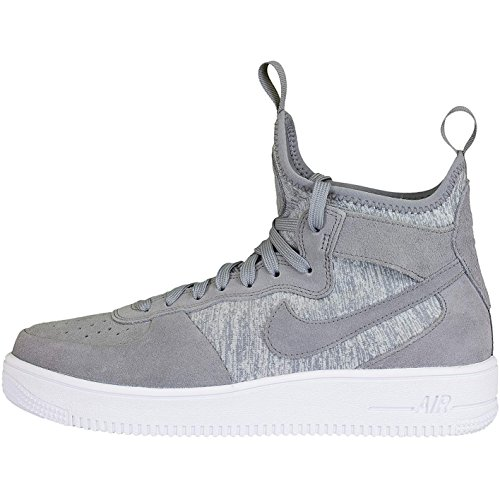 Nike Air Force 1 UF Mid Premium Sneaker Trainer Grey/White