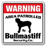 Home Decor Bullmastiff Sicherheit Schild Bereich 'Pet Wasserspeier AKC-Hund