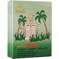 AMOR Wild Love Kondome 3 Stück preisvergleich bei billige-tabletten.eu