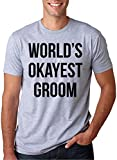 Best Crazy Dog Tshirts Man Shirt For Bachelor Parties - World's Okayest Groom T Shirt Funny Getting Married Review