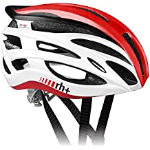 zero rh+ Two In One - Casco de ciclismo para adultos, color multicolor - shiny white/shiny red, talla XS/M