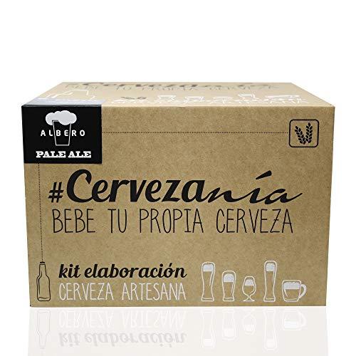 Cervezanía es la forma más completa y profesional de hacer cerveza en casa: Con el kit de #Cervezanía puedes elaborar hasta 5 litros de cerveza en casa. En 8 sencillos pasos y sin necesidad de conocimientos previos, podrás hacer tu propia cerveza de ...
