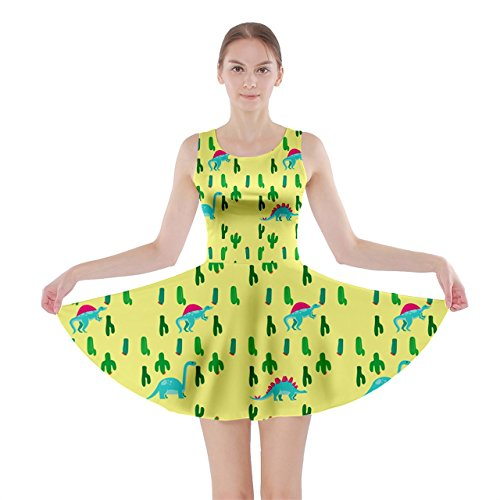 CowCow - Robe - Femme Rose Magenta Yellow Cactus