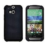 GizzmoHeaven HTC One M8 Hülle Stoßfest Handy Schutzhülle