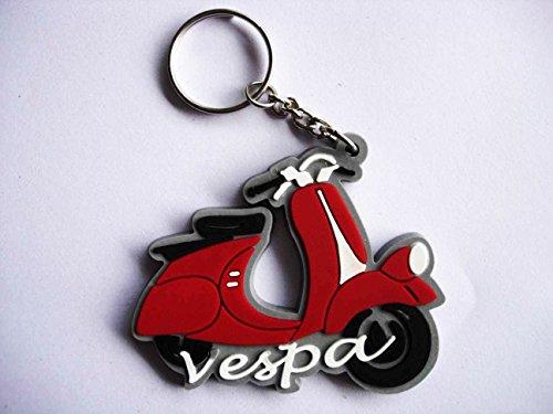 Llavero de moto Vespa