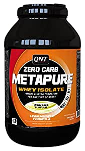 QNT Zero Carb Metapure - 2 kg (Banana)