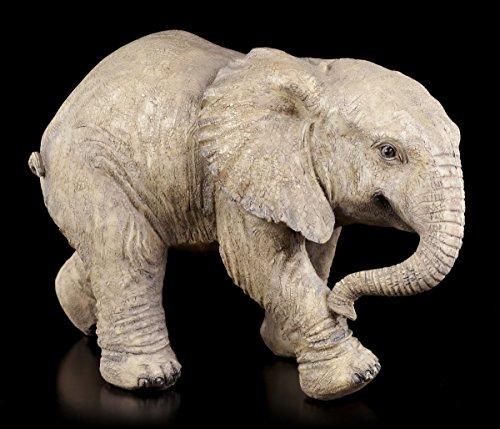 Baby Elefant Gartenfigur - Garten Figur Deko