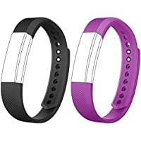 AndThere Replacement Straps Watch Band Adjustable Wristband for ID115HR or ID115 Fitness Tracker Pedometer