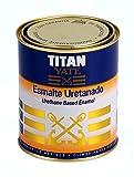 TITAN - Esmalte uretanado titan yate brillante blanco 750ml