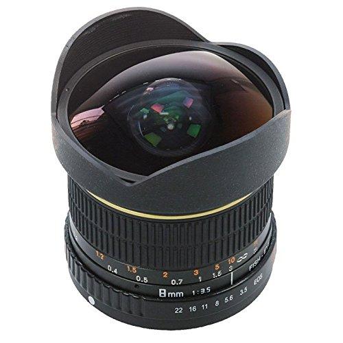 DÖRR Fisheye Weitwinkelobjektiv 8mm 1:3,5 Canon EOS