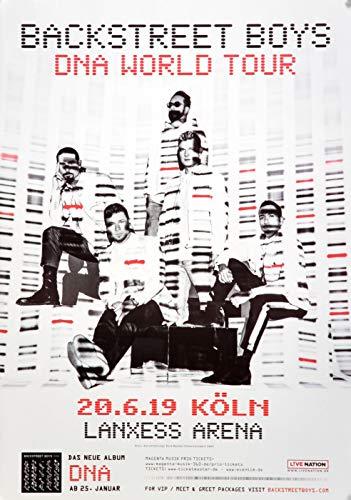 Premium Poster/Plakat | DIN A1 | Live Konzert Veranstaltung » Backstreet Boys - DNA World, Köln 2019 « -