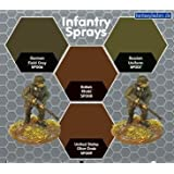 The Plastic Soldier Infantry Sprays: British Khaki - LIMITED - SALE SAVE 30% by Plastic Soldier Company