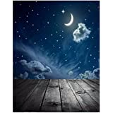 SLB Works Photography Background Moon Star Baby Theme Photo Studio Backdrop Props N8E U0L4