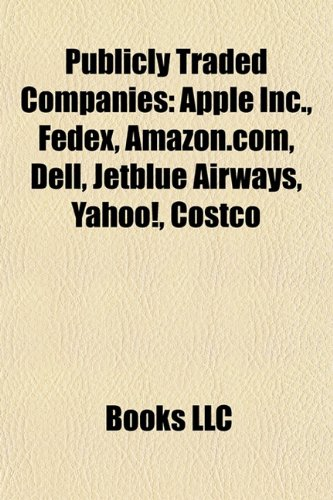 publicly-traded-companies-apple-inc-fedex-amazoncom-dell-general-mills-jetblue-airways-target-corpor