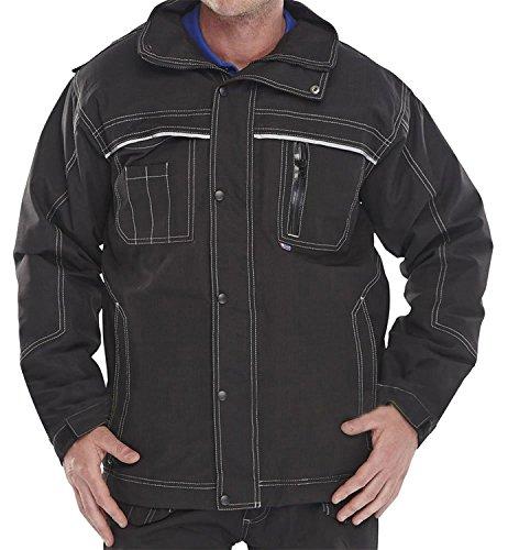 Fast Fashion - Veste Vêtements De Travail Traitants Vêtements Poche Zippée Et Manteau De Tuf De La Hotte - Mens