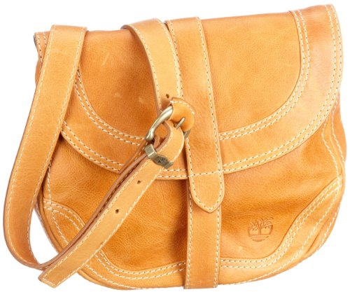 Timberland Small Flap over bag M2456, 23x21x5 cm, Marrone (Braun/Artisan