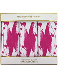 Box Of Fish Sporting Handkerchiefs (HH68) Fish handkerchiefs By Handkerchief Heaven