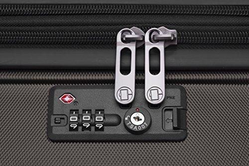 HAUPTSTADTKOFFER - X-Berg - Handgepäck Koffer Trolley Hartschalenkoffer, TSA, 55 cm, 42 Liter, Graphite - 7