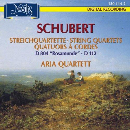 """Schubert: Streichquartette D 804 """"Rosamunde"""", D 112"""