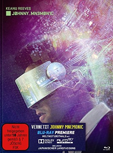 Vernetzt - Johnny Mnemonic - Mediabook [Blu-ray] [Limited Edition]