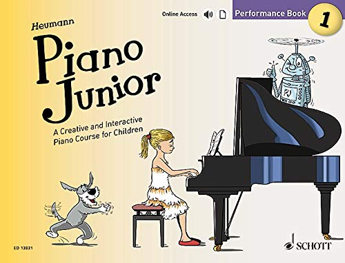 Piano Junior: Performance Book 1: A Creative and Interactive Piano Course for Children. Vol. 1. Klavier. (Piano Junior - englische Ausgabe)