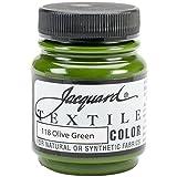Jacquard Produkte Textilfarbe, Acryl, Olivgrün, Mehrfarbig