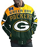 Green Bay Packers Men's NFL G-III Blitz Premium Cotton Twill Jacket