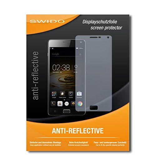 SWIDO Schutzfolie für Lenovo Vibe P1 Turbo [2 Stück] Anti-Reflex MATT Entspiegelnd, Hoher Härtegrad, Schutz vor Kratzer/Bildschirmschutz, Bildschirmschutzfolie, Panzerglas-Folie