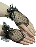 Yummy Bee Fingerless Gloves Lace Short Fancy Dress Evening Party Wedding Women Ladies