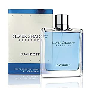 Davidoff Silver Shadow Altitude Eau De Toilette Spray for Men, 100ml