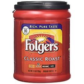 Folger Classic All Purpose Medium Roast 320 g (Pack of 2)