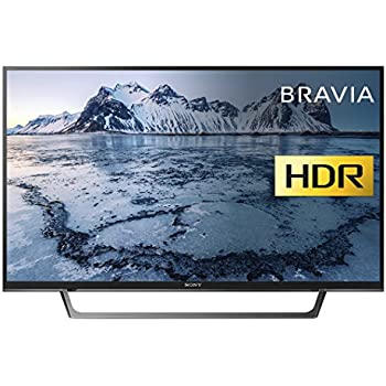 Sony Bravia KDL49WE663 (49-Inch) Premium Full HD HDR TV (X-Reality PRO, Triluminos Display) - Black (2017 Model)