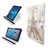 Case Cover für Samsung GALAXY Tab S3 9.7 T820N Tablet Schutzhülle Etui mit Touch Pen & Standfunktion - 10.1 Zoll Paris 5 360˚