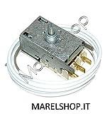 TERMOSTATO FRIGORIFERO ORIGINALE REX ELECTROLUX 3 CONTATTI K59 L1265FF