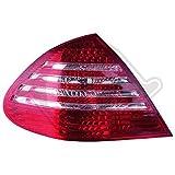Rückleuchten Satz LED Klar/Rot-Weiß
