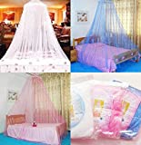Generic Blue, 250 900 60cm : New Decoration White Insect Fly Bed Canopy